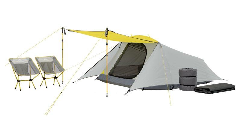Ozark Trail 3-Person Camping Bundle