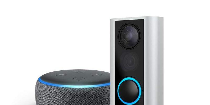 Ring Peephole Cam with Echo Dot Save 48%