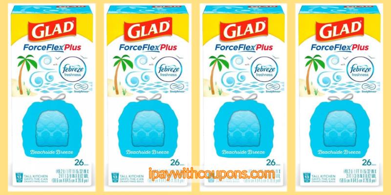Glad Trash Bag $5/25 Dollar General Scenario 5/16 #deannasdeals