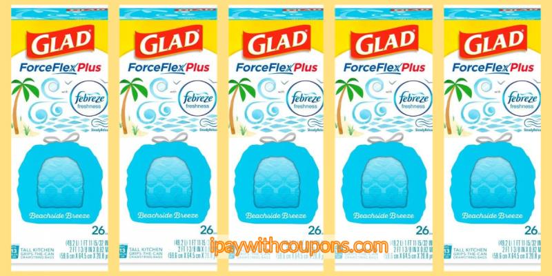 Glad Trash Bag Scenario Stock Up Price! $5/25 Dollar General