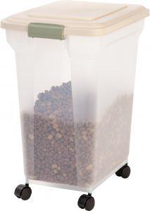 IRIS Pet Food Container $10.04 Save $24.03! #walmartdeals #deannasdeals