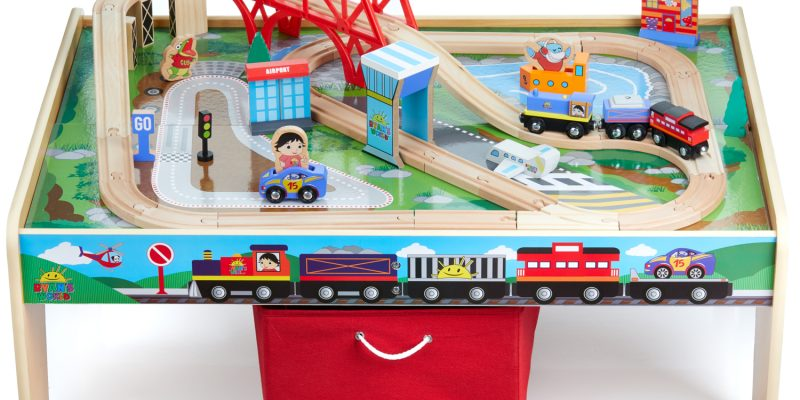 Ryan's World 50-Piece Planes, Trains & Auto Play Table Set Save $129.99 Walmart Deals