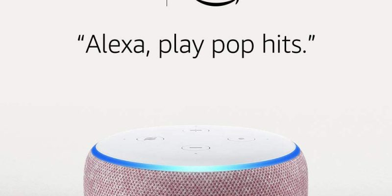 Buy 2 Echo Dot Smart Speakers For $39.98 At Amazon! $19.99 Each