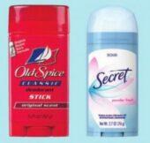 $2.50 Secret Or Old Spice Deodorant! Walgreens Deals #deannasdeals