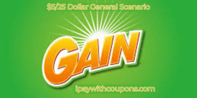 GAIN $5/25 Dollar General Scenario #deannadeals