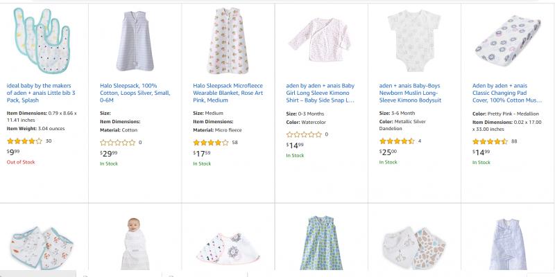 aden + anais Flash Sale With Promo Codes! Amazon Deals #deannasdeals
