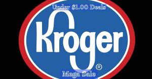 Kroger Mega Sale $1.00 And Under Deals! #deannasdeals