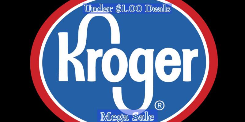 11/4-11/17 Kroger $1.00 & Under Deals! Kroger Mega Sale