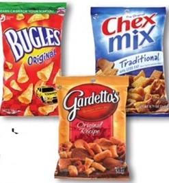 Chex Mix Bugles or Gardetto's $.74 Kroger Mega Sale! #deannasdeals