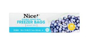 Buy 1 Get 2 Free Nice Storage Bags Walgreens Deal #deannasdeals
