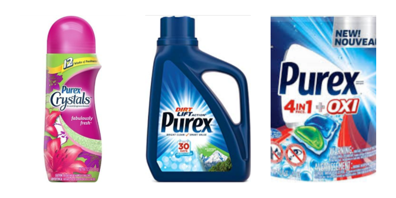 $.33 Each Purex Scenario Sunday Only At Walgreens!