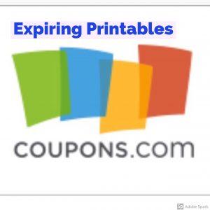 Last Chance Printable Coupons #deannasdeals