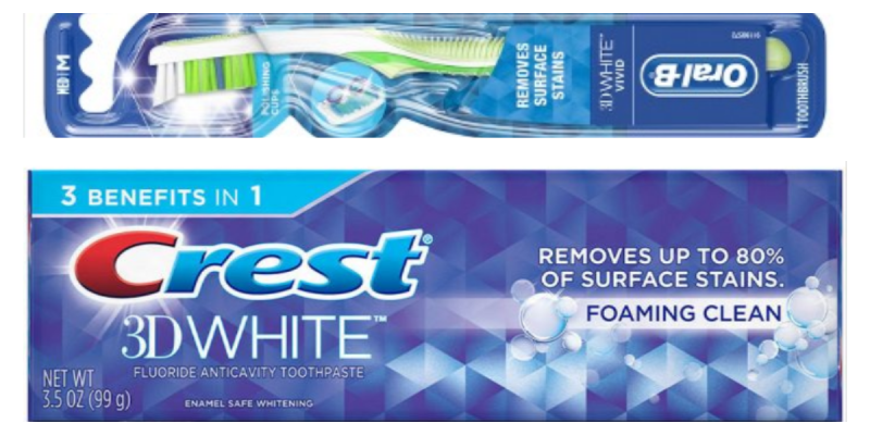 3 Free Crest Or Oral-B Products At Walgreens
