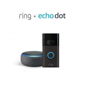Ring Doorbell + Echo Dot Save $69.99! Amazon Deal #deannasdeals