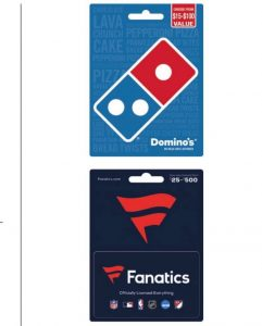 Free $10 Walgreens Gift Card When You Buy Dominos or Fanatics Cards #deannasdeals