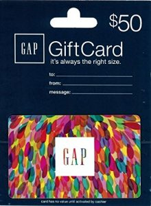 $50 Gap Gift Card For $40!