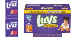 Luvs Diapers $5/25 Dollar General Scenario All Digital