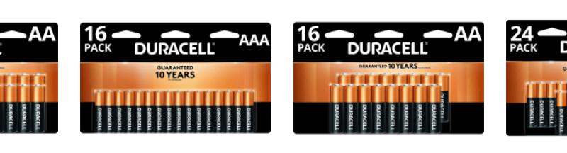 Office Depot Rewards FREE Duracell Batteries!