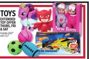 Toy Sale Extended At Dollar General!