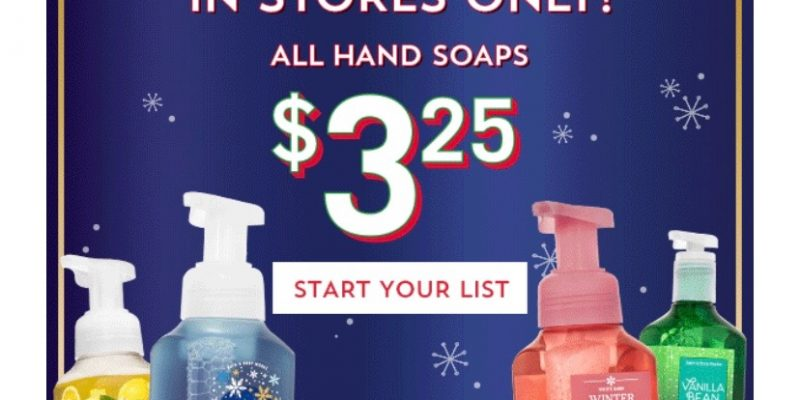 Bath & Body Works Hand Saop