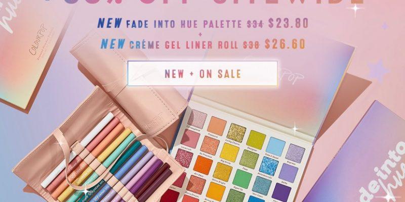 Colourpop Cosmetics 30% off