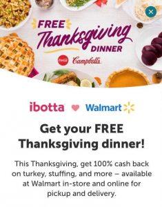 Ibotta Free Thanksgiving