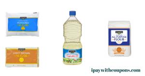 Clover Valley Oil, Flour and Sugar