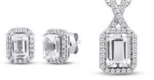 White-Lab Created Sapphires At Kay Jewelers!