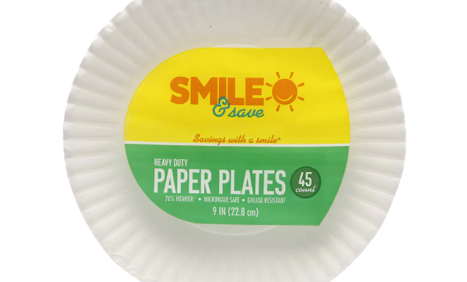 $.99 Foil or Paper Plates At Walgreens