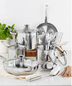 Tools of The Trade Stainless Steel Cookware $29.99 Save 75%