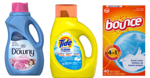 $1.70 Tide Simply Downy or Bounce At Walgreens