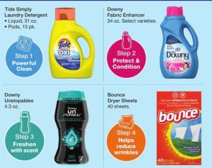 $1.75 Tide Simply and 4/$8 Laundry Care At Walgreens!