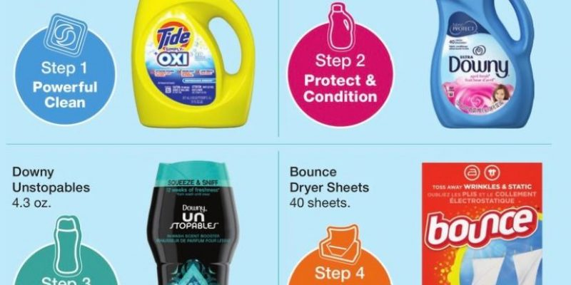 $1.50 Tide Downy Unstopables or Bounce! You chose at Walgreens!