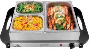 $29.99 Chefman Electric Buffet Server At Best Buy!