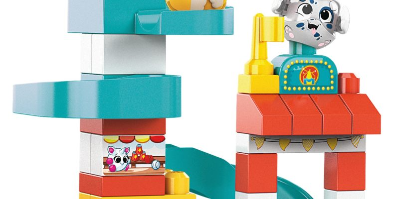 Mega Bloks Peek A Blocks Amusement Park + More Walmart Clearane Toys!