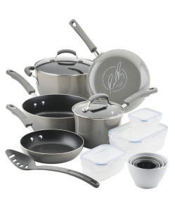 19 Piece Rachel Ray Cookware $87.99! Save 60% at Macy's!
