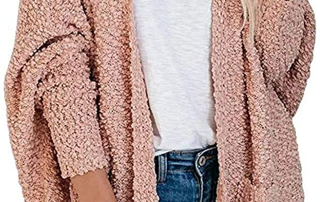 Caracilia Women's Knit Cardigans 50% off with code