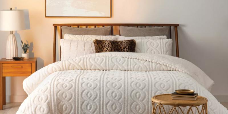 Koolaburra by UGG Tynlee Comforter Set Closeout Deal At Kohls!