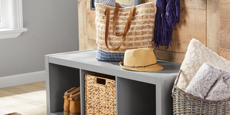 $39.88 Better Homes & Gardens 3-Cube Storage Organizer