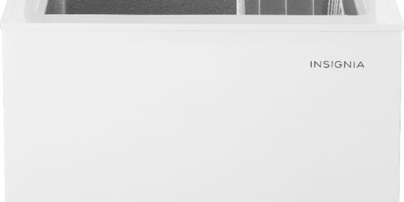 Insignia Chest Freezer 5.0 Cu. Ft $134.99 Best Buy!
