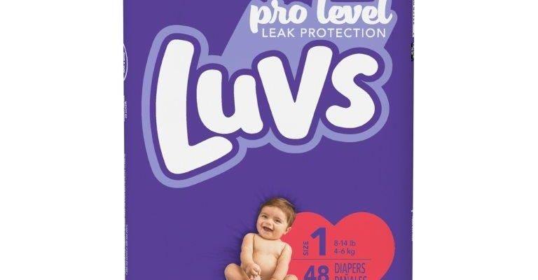 Luvs Diapers Final Price $3.00 After Sale + Rebate!