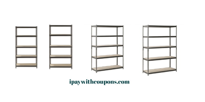 Muscle Rack Shelving Starting At $43.09!