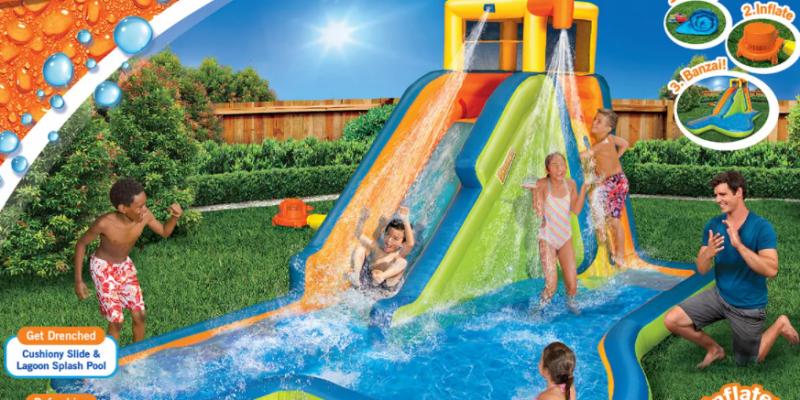 Banzai Slide 'N Soak Splash Park Final Price After Kohl's Cash +Rewards $299.99