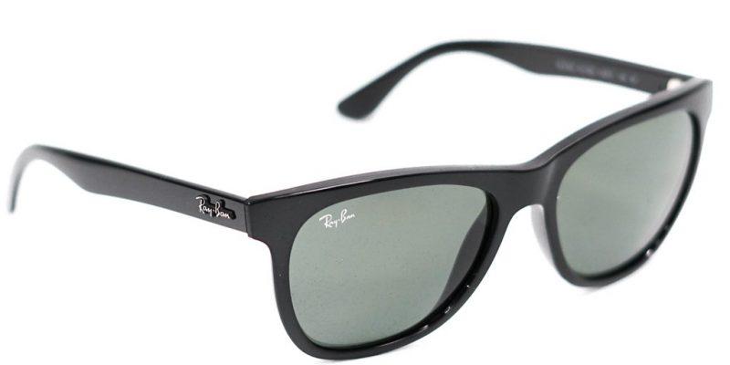 Ray-Ban Sunglasses Black/Green $65.40!