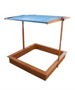 Red Hemlock Canopy Sand Box $69.99