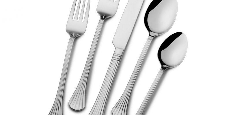 International Silver Cascade 51 Pc Flatware Set $27.99