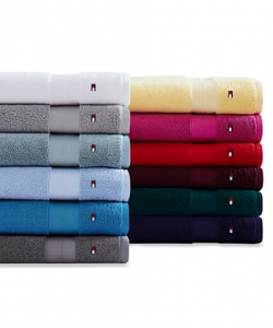 Tommy Hilfiger Bath Towel Collection Starting At $2.79!