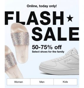Shoes For the Family at Macy's #AmySaves