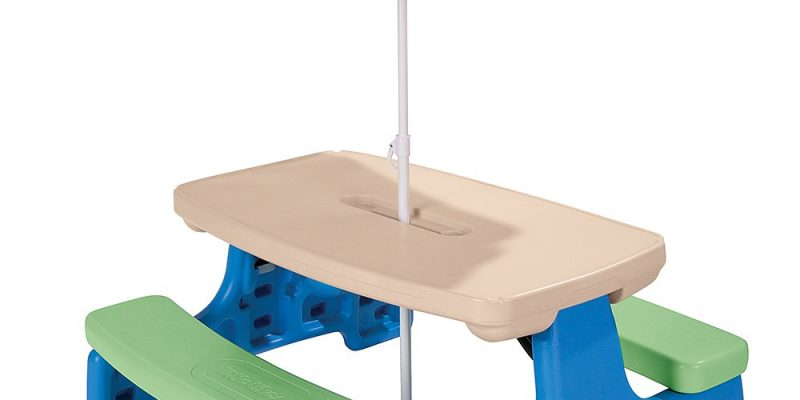 Little Tikes Easy Store Picnic Table $69.97