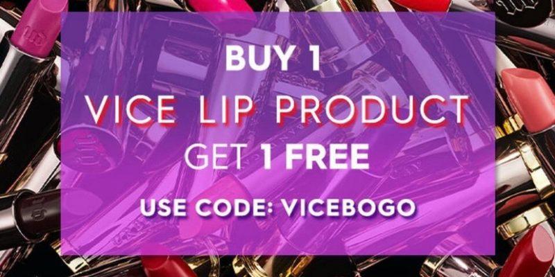 Urban Decay BOGO FREE Lip Sale #AmySaves
